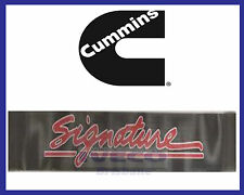 Genuine Cummins Signature Windscreen Sticker, Banner, Decal 930mm x 135mm CPR681