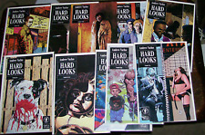 HARD LOOKS #1-#10 Complete run. Andrew Vachss, James O'Barr, others 1990s