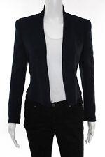 Akris Bergdorf Goodman Navy Blue Wool Santiago Jacket Size 2 New $2990