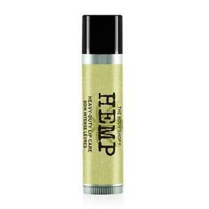 THE BODY SHOP Hemp Lip Care Balm Stick Hydrate Dry HEAVY DUTY .14 oz USA New
