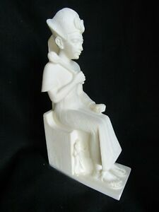 SIGNED ALABASTER Ramses II A. GIANNELLI  ITALY 1990