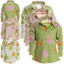 Langarm Mädchen-Blusen aus Baumwollmischung