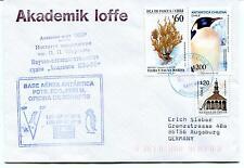 1996 Base Aerea Antartica Eduardo Frei Chile Russia CCCP Polar Antarctic Cover