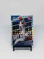 2019-20 Panini Mosaic Got Game Silver Holo Derrick Rose #2 Detroit Pistons