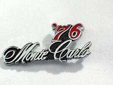 1976 Monte Carlo Pin , Auto Pin