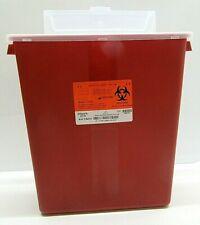 3 Pack Sharps 3 Gallon Biohazard Container Needle Disposal Doctor Tattoo Sharp