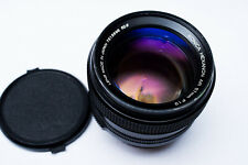 CLAed! Konica Hexanon AR  57mm f/1.2 ultra fast prime lens Mirrorless adaptable!