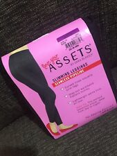 Spanx love your assets slimming leggings..seamless Pipeline black size XXL 14-16