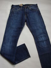 VAQUEROS EDWIN ED71 PITILLO doble listed selvage color piedra lavado W32 L34