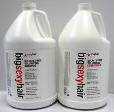 Big Sexy Hair Volumizing Shampoo and Conditioner Gallon Set Sulfate Free 128 oz