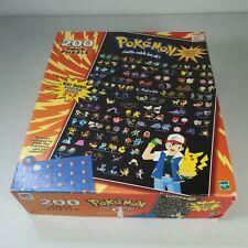 Pokemon Vintage puzzle 2 x 3 ft 200 pieces 1999 - MB Hasbro 1 PIECE MISSING