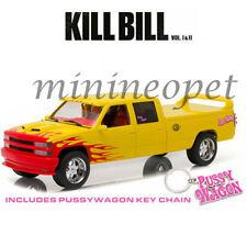GREENLIGHT 19015 KILL BILL 1997 CHEVROLET C-2500 SILVERADO PUSSY WAGON 1/18