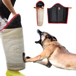 Dog Training Bite Leg Sleeve Jute Leg Protection for Helper K9 Boxer SCHUTZHUND
