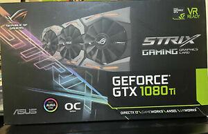 ASUS Republic of Gamers Strix GeForce GTX 1080 TI 11GB GDDR5X Graphics Card...