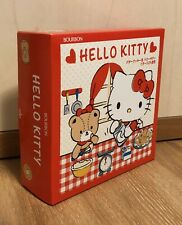 HELLO KITTY BUTTER COOKIES Tin Box Sealed Exp.2020.10 Made in Japan from BOURBON
