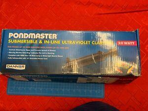 Pondmaster Submersible Ultraviolet Clarifier & Sterilizer 20 Watts - 1,800 GPH