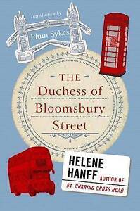 The Duchess of Bloomsbury Street, Excellent, Hanff, Helene Book