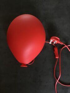 IKEA KIDS WALL LIGHT red balloon