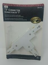 Hampton Bay 293172 Track Lighting T-Connector Removable End Cap UL Listed White