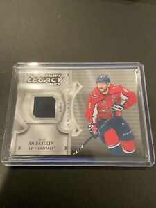 Alex Ovechkin 2019-20 UD Artifacts Lord Stanley's Legacy Relics Jersey SP