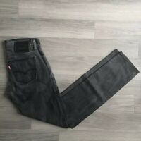 "LEVIS Mens 510 Faded Black Wash Jeans Skinny Fit W28"" L32"" Red Tab"