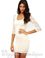 Lace Short/Mini Stretch, Bodycon ASOS Dresses for Women