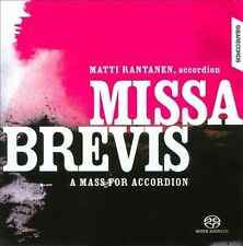 HAYDN  GUSTAFSSON  MOZART  SON : Missa Brevis: A Mass for Accordion CD