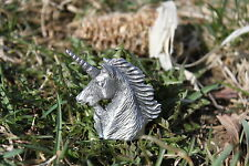 Hastings Pewter Lead Free Pewter Unicorn Figurine head Fantasy mythical Gift New