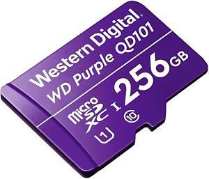 Western Digital WDD256G1P0C memory card 256 GB MicroSDXC For CCTV Cameras