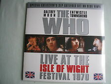 THE WHO Live @ Isle Of Wight 1970 UK triple LP 2012  new mint sealed blue vinyl