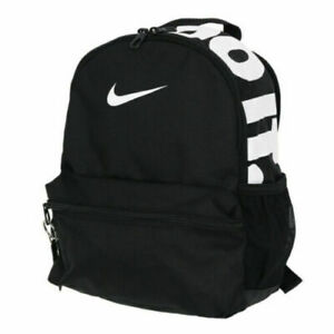 nwt Nike Brasilia JDI Just Do It Kids Mini Backpack purse BLACK white BA6559-013