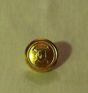 """Ralph Lauren Polo Brass Blazer Button Replacement Waterbury 5/8"""" Cuff 2 Part"""