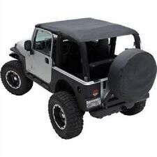 Smittybilt 2004-2006 Jeep Wrangler Rubicon Extended Brief Top and Windshield