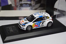 VW VOLKSWAGEN POLO R  WRC rally finland 2013 OGIER  direkt collection  ixo