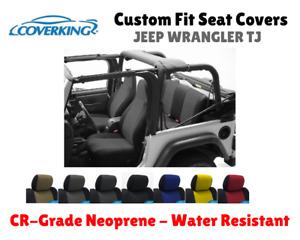 CR-Grade Neoprene Custom Fit Seat Covers For 1997 Jeep Wrangler TJ