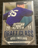 Kyle Freeland RC 2014 Panini Prizm Draft Picks #7 Colorado Rockies