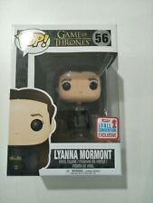 Funko pop vinyl figure #56 Lyanna Mormont exclusive BNIB Game of Thrones