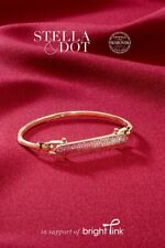 Stella & Dot Rebel Bracelet-Pink Ombre Brand New In Original Box RV $99