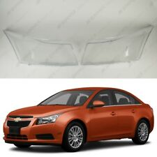 Chevrolet Cruze 08-16 OEM Headlight Glass Headlamp Lens Plastic Cover (PAIR)