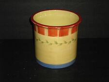 2005 Pfaltzgraff Napoli Pottery Utensil Gadget Crock Wine Cooler
