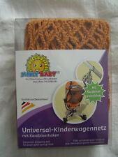 SUNNY BABY Einkaufsnetz ORANGE Kinderwagen-Netz Kinderwagennetz SICHTSCHUTZ