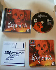 Exumed play station playstation PS1 PS P S 1 psx game gioco
