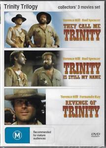 Trinity Trilogy DVD They Call Me/Still My name/Revenge New Australian Release