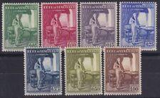 VENEZUELA Sc 350-6 LH issue of 1939 - MENDOZA