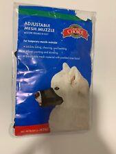 Great Choice Adjustable Mesh Muzzle Fits Large 60-80 Lb Doh