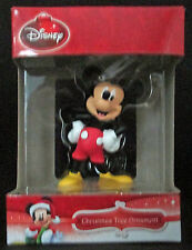 Disney Mickey Mouse Club Christmas Tree Holiday Ornament Figural New Boxed