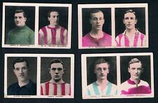 1922 Boys' Friend Footballers Lot of 4 Dual Cards