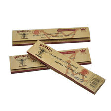 5 x Hornet Organic Brown 110MM Hemp Smoking Cigarette Rolling Paper 32leaves