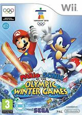 Mario & Sonic at the Winter Olympic Games - Nintendo Wii