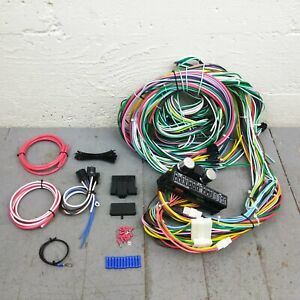 1953-86 Jeep CJ DJ Main Wiring Harness Fuse Box Headlight Switch Kit eagle super